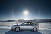 Centerpiece (Wong's Bokehgraphy) Tags: subaru subarusti sti landscape winter sundog car