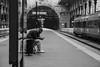 Estação São Bento (passoscaio) Tags: europa europe portugal porto estação metro trem solidao destino caminho fotografia pensamento poesia