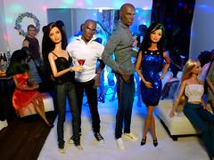 Party people 4 (dollyfan1) Tags: doll diorama 6thscale 16scale mattel barbie ooak hybrid newyear ken darius integrity tariq fr fashionroyalty