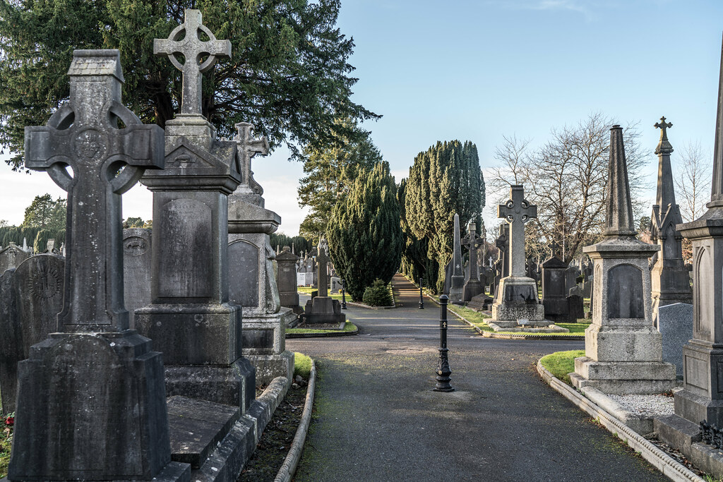 VISIT TO GLASNEVIN CEMETERY IN DUBLIN [FIRST SESSION OF 2018]-135095