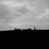 House on a Hill, Eastern Washington (austin granger) Tags: house hill palouse farm washington topography stark antennae home square film gf670