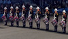 A Line of Drummers (maskirovka77) Tags: edinburghcastle royaledinburghmilitarytattoo royalnavy bagpipes bands dancers marching military tattoo edinburgh scotland unitedkingdom gb