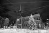 The lone christmas tree (jaeschol) Tags: europa jahreszeit kantonzürich kontinent morgen morning schnee schweiz stadtzürich suisse switzerland wetter winter zeit weihnachtsbaum christmas tree tanne snow