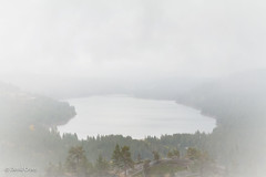 A Rainy Day at Donner Lake (buffdawgus) Tags: california canon1585mmusmis canon7d donnerlake landscape lightroom6 nevadacounty rainyday sierranevadarange topazsw