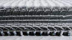 Einkaufswagen (Werner Schnell Images (2.stream)) Tags: ws ikea einkaufswagen schnee winter