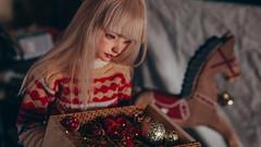 22 (mimiau_m) Tags: bjd bjdstory asian doll christmas noel zaoll luv recast dollroom