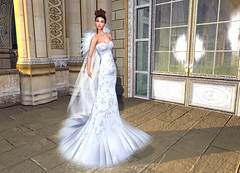 LuceMia - :: TIFFANY DESIGNS :: (MISS V♛ ITALY 2015 ♛ 4th runner up MVW 2015) Tags: tiffanydesigns sl new formal gown creations mesh ice queen melissa set models lucemia