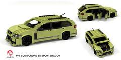 Holden VFII Commodore SS Sportswagon (lego911) Tags: holden gmh general motors holdens ss commodore vfii vf2 sportswagon wagon estate 2016 2010s aussie australia auto car moc model miniland lego lego911 ldd render cad povray v8