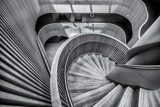 Monochrome stairs