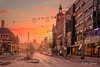 Christmas morning in downtown Helsinki (Joni Salama) Tags: kamppi valo helsinki suomi auringonnousu helsingfors uusimaa finland fi light sunrise