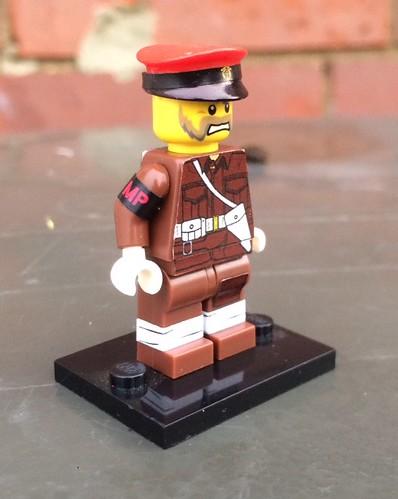 Lego WW2 British Military Police