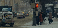 snow in Smolensk (ibryuzgin) Tags: sonya550 sonydslr cropformat digitalphotography colored colorcorrection colorgrid adobe adobephotoshop cameraraw sometimes sometimesphoto photographer streetphotographers lifeisstreet minoltalens 70210mm beercan smolensk смоленск снег