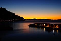 One of my favorite places in this planet! (eudibi) Tags: sunrise dawn bynight amalfi coast gulf salerno mirrorless nikkor lens sonyalpha camerasony maiori harbor harbour