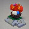 Pheonix Nest (IamKritch) Tags: lego bird pheonix eggs nest mythological mythology