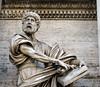 (Claudjineo) Tags: roma rome italia italy lazio statua statue history storia man uomo book libro viso capelli face hair beard barba art arte