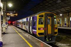 158908 20171228 Huddersfield (steam60163) Tags: northerntrains class158 westyorkshire huddersfield