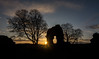 Sunset at Balvaird Castle (Katherine Fotheringham) Tags: balvaird castle perthshire fife scotland sunset ruins