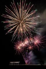 A view of New Years (ajecaldwell11) Tags: night hawkesbay newzealand newyearseve ankh newyear longexposure viewingplatform sky fire napier caldwell clouds light