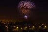 fireworks in Zlin (Radebe27) Tags: fireworks ohnostroj czechrepublic ceskarepublika valassko wallachian noc night
