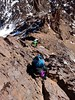 Climbing down the east ridge (markhorrell) Tags: morocco highatlas atlasmountains ouanoukrim