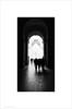 The Louvre, Paris (Ian Bramham) Tags: louvre pyramid entrance impei architecture bw mono