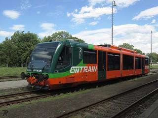GWTrain 654 013, Station Karlovy Vary dolní nádraží