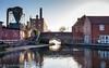 Fazeley Junction (Mirrorfinish) Tags: canal birminghamandfazeleycanal coventrycanal britishwaterways fazeley staffordshire england waterway fazeleyjunction
