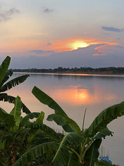 Sunset storm along the Mekong 2018-1-7 2 (SierraSunrise) Tags: clouds mekong mekongriver nongkhai phonphisai reflections river skies sky storm sunset thailand