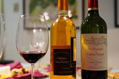 DSC02321.JPG (kabamaru.k) Tags: hiro newyear sweets wine glass bottle