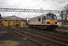 92 030 on shed at Crewe ETD. (Marra Man) Tags: creweetd creweelectricdepot creweiemd ews dbschenker class92 92030