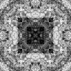 1491319017 (michaelpeditto) Tags: art symmetry carpet tile design geometry computer generated black white pattern