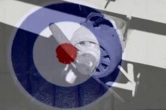 Sopwith Camel (British) (oddbodd13) Tags: doubleexposure merge macro roundel aircraft airplane plane aeroplane military airfix model decal propeller sopwith camel fighter biplane british raf royalairforce royalflyingcorps macromondays