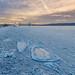 Frozen Hudson River - 2018,  New York
