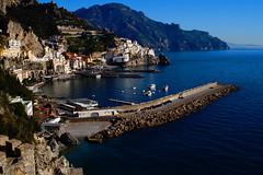 a little harbor! (eudibi) Tags: tirreno seaside amalfi nikkor lens coast seascape sonyalpha camerasony campania italy salerno