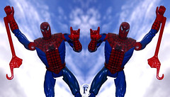 Spider man (figurecollectionnow) Tags: figure collection collectible hero super superhero blue red collector toy spider man peter parker peterparker spiderman