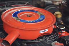 390 Super Marauder (Hi-Fi Fotos) Tags: mercury 390 super marauder engine motor power aircleaner vintage decal orange 60s classiccar powerplant nikkor 50mm 14 nikon d7200 dx hififotos hallewell