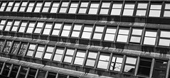 Windows in architecture. . . (CWhatPhotos) Tags: cwhatphotos building window windows view square 60s style artitecture olympus esystem four thirds digital camera sigma 19mm art lens pictures picture photo photos image images foto fotos that have which contain taken newcastle upon tyne north east england uk 2017 dec december city centre center black white mono mnochrome
