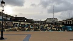 Disorderline Crew / Oostende - 9 dec 2017 (Ferdinand 'Ferre' Feys) Tags: belgium belgique belgië streetart artdelarue graffitiart graffiti graff urbanart urbanarte arteurbano ferdinandfeys oostende ostend disorderline disorderlinecrew