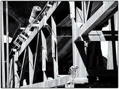Mine Machine (Finepixtrix) Tags: mining machinery conveyorbelt bw blackandwhite westrand krugersdorp mogalecity fujifilm finepix s5600 bridgecameras contrast engineering