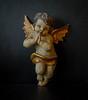 My Christmas cherub (frankmh) Tags: cherub christmas wood decoration handmade hittarp sweden madeinaustria
