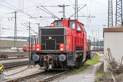 214 018 DB Regio Würzburg Hbf 25.04.16 (Paul David Smith (Widnes Road)) Tags: 214018 db regio würzburg hbf 250416 br214 v100west v100