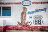 Happy Motoring on Route 66 (donnieking1811) Tags: newmexico tucumcari route66 esso happymotoring happymotoringonroute66 putatigerinyourtank building exterior art mural painting tiger hdr canon 60d lightroom photomatixpro