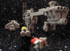 Roll the Credits (VAkkron) Tags: lego star wars episode v 5 the empire strikes back nebulon b gr75 transport microscale space
