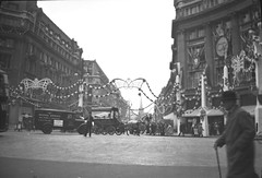 random old plates and photo negatives (foundin_a_attic) Tags: photo negatives oxford circus silver jubilee george v 1935 london