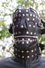 Leather Hood (leatherman2011) Tags: leather hood bondage restrained locked fetish bound