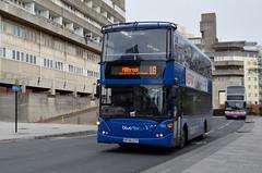 1125 HF58GZP (PD3.) Tags: 1125 hf58gzp hf58 gzp scania bluestar blue star goahead go ahead south bus buses psv pcv southampton hampshire hants england uk wilts dorset group