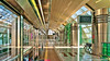 Dubai, United Arab Emirates: Airport Terminal 1 metro station (Red Line) (nabobswims) Tags: ae airport dubai hdr highdynamicrange hochbahn ilce6000 lightroom metro nabob nabobswims photomatix rapidtransit sel18105g sonya6000 station subway terminal1 ubahn uae unitedarabemirates