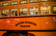 boston elevated railway (pbo31) Tags: bayarea california nikon d810 color night dark black boury pbo31 december 2017 orange sanfrancisco marketstreet muni streetcar transit city urban motionblur roadway street railway boston passengers