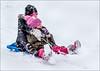 Siblings (Fermat48) Tags: siblings sledging snow sledge chadderton noddiesfield hats 2016 winter canon eos 7dmarkii