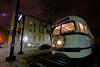 Repainted Kansas City PCC (Jeff Carlson_82) Tags: kansascity mo missouri citymarket pcc 551 rest restored repainted christmas wreath lights urban streetcar repurposed transit architecture train railroad railfan railway